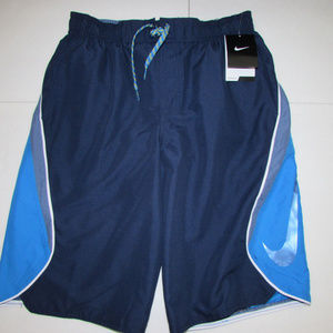 NEW-Men's NIKE Blue Shorts Sz S
